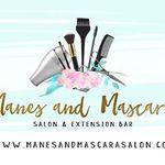 Manes and Mascara Salon profile image.