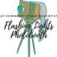 Flashing Lights Photobooth  logo