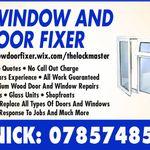 THE WINDOW AND DOOR FIXER profile image.