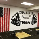 Chalk It Up Strength profile image.