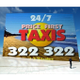 Price First Taxis logo