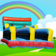 Ware bouncy castles logo