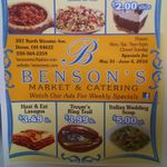 Bensons Market & Catering profile image.