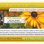 Better Times Recovery Services profile image.