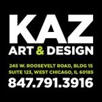 Kaz Art & Design profile image.