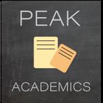Peak Academics profile image.