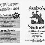 Szabo's Seafood - Food Truck Company profile image.