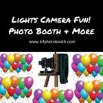 Lights Camera Fun Photo Booth & More profile image.