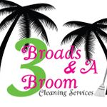 3 Broads & A Broom Cleaning Services profile image.