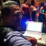 DJ WIth A PA profile image.