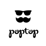Poptop Event Planning profile image.