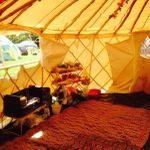 Sacred Spaces Yurt Hire profile image.