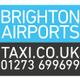 Brighton airports taxi  logo