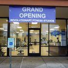 Revolutionary Fitness studios logo