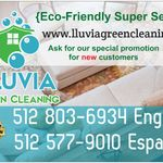 Lluvia Green Cleaning profile image.