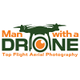Man with a Drone logo