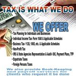 Ck Business Associates Inc- DBA.Options Tax Consulting profile image.