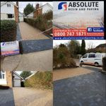 Absolute resin and paving profile image.