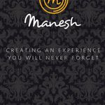 Manesh Catering profile image.