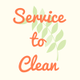 Service To Clean logo