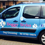 Doggy Styles Dog Grooming profile image.