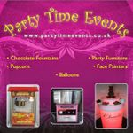 Party Time Events profile image.