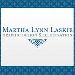 Martha Lynn Laskie Graphic Design & Illustration profile image.