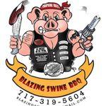 Blazing Swine BBQ profile image.