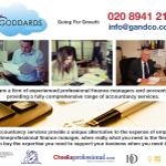 Goddards Accountants profile image.