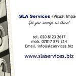 SLA Services + Visual Impact profile image.