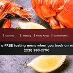 Simply Seafood and Catering profile image.