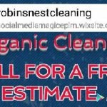 Robin's Nest Cleaning Co. profile image.