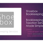 Shoebox Bookkeeping Services profile image.