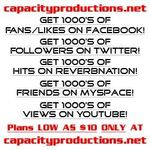 Capacity Productions Inc. profile image.