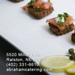 Abraham Catering profile image.