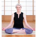 Rainbow yoga profile image.