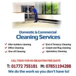 Red rose cleaning services profile image.