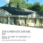 It's A Private Affair Event Service, LLC profile image.