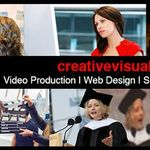 Creative Visual Productions profile image.