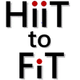 Hiit to Fit logo
