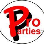 Pro Parties, LLC profile image.
