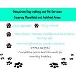 Daisychain dog walking and pet services profile image.
