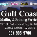 Gulf Coast Mailing & Printing Services profile image.