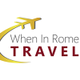 When In Rome Travel logo