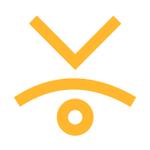 Yellow profile image.