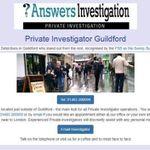 Answers Investigation Private Investigators profile image.