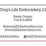 A Dog's Life Embroidery profile image.