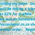 Occasional Cakes KZN South Africa profile image.