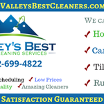 Valley's Best Cleaners profile image.