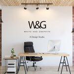 White & Graphite Design Studio profile image.